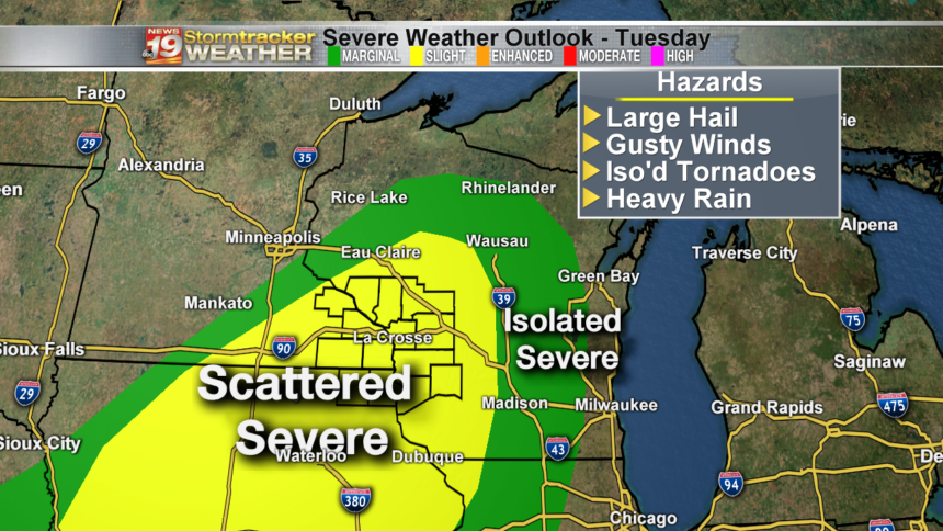 Severe Weather Outlook Day 2