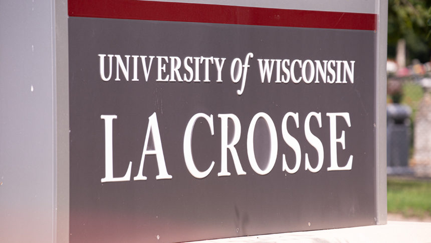 uw-la crosse sign