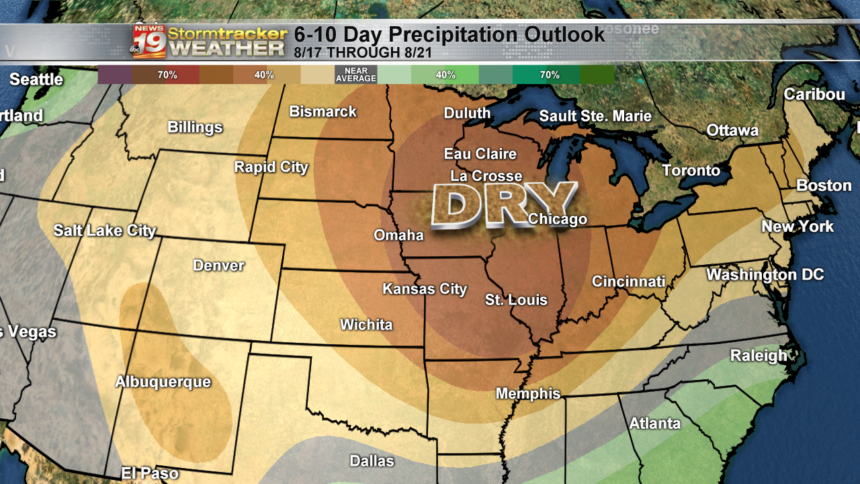 6 to 10 day outlook precip