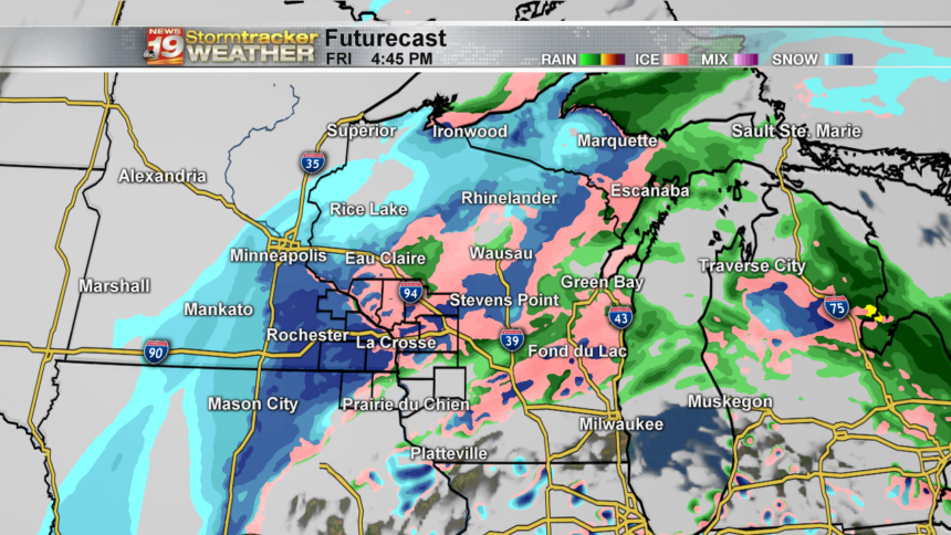 State 18 Hour -Futurecast Clouds and Precip - Roundtwo