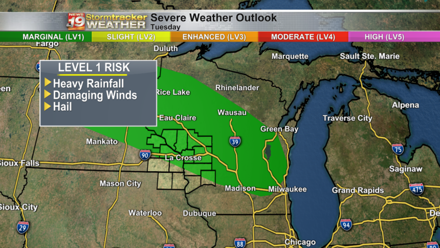 Severe Weather Outlook Day 2 - Millexo
