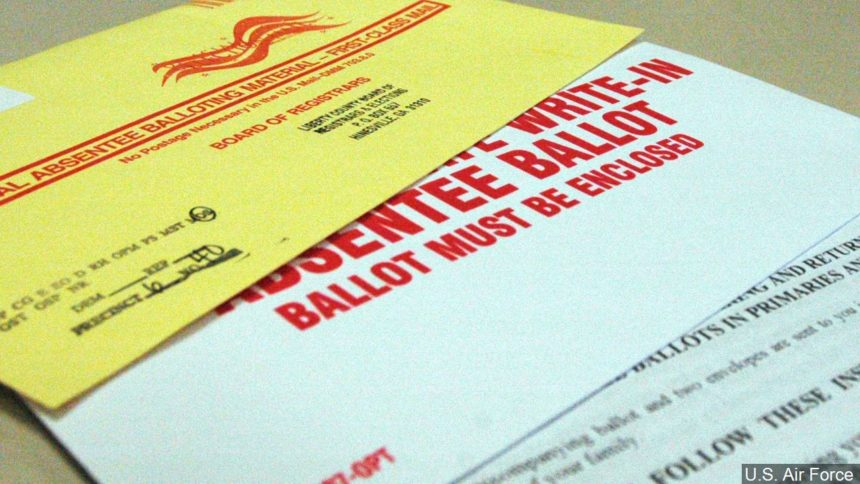 Impact of extensive absentee ballot requests
