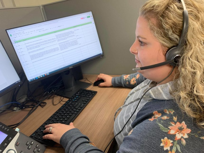 Most commonly asked questions at the Eau Claire County COVID-19 call center
