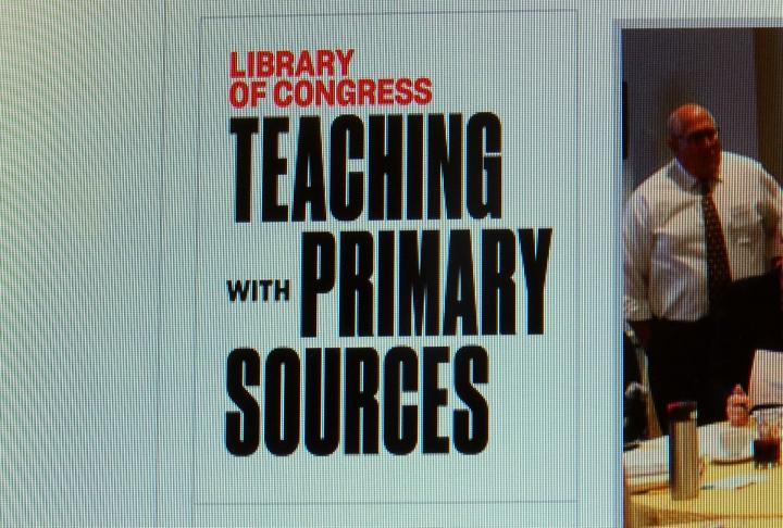 Library of Congress provides free online resources for teachers