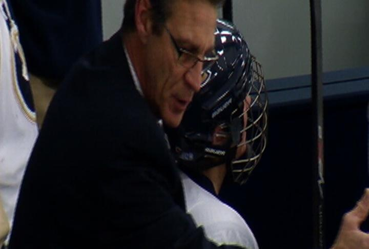 MIKE COLLINS HOCKEY COACH