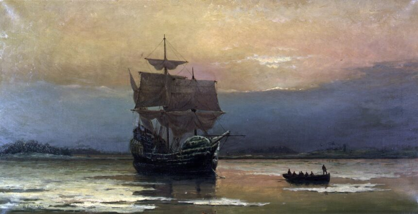 1920px-Mayflower_in_Plymouth_Harbor,_by_William_Halsall