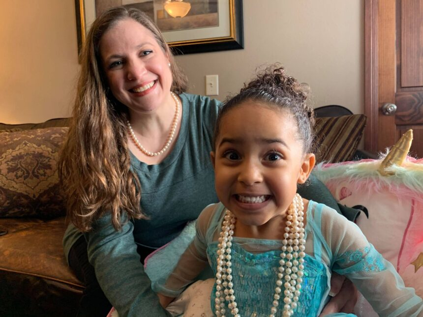 Eau Claire women wearing pearls in support of Kamala Harris on Inauguration Day