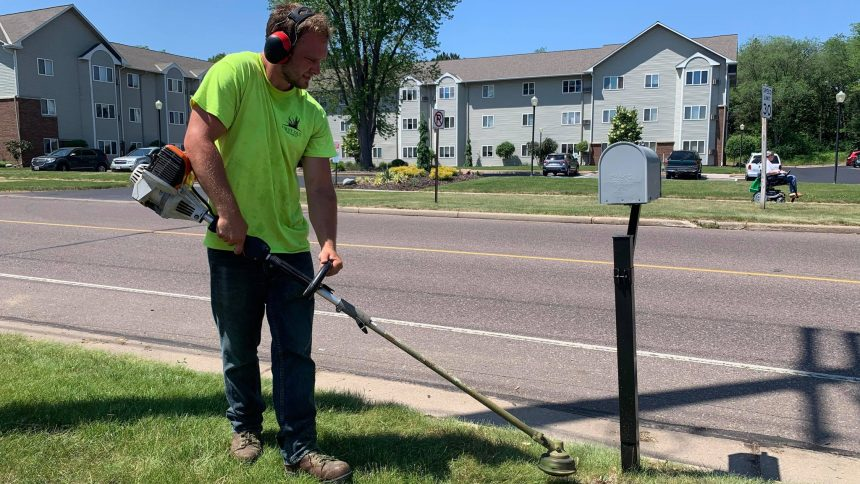 Working Outdoors Lawn Care
