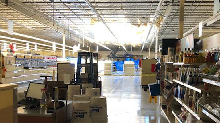 Loves Park Blain S Farm Fleet Partially Closed After Storm Rips Through Roof