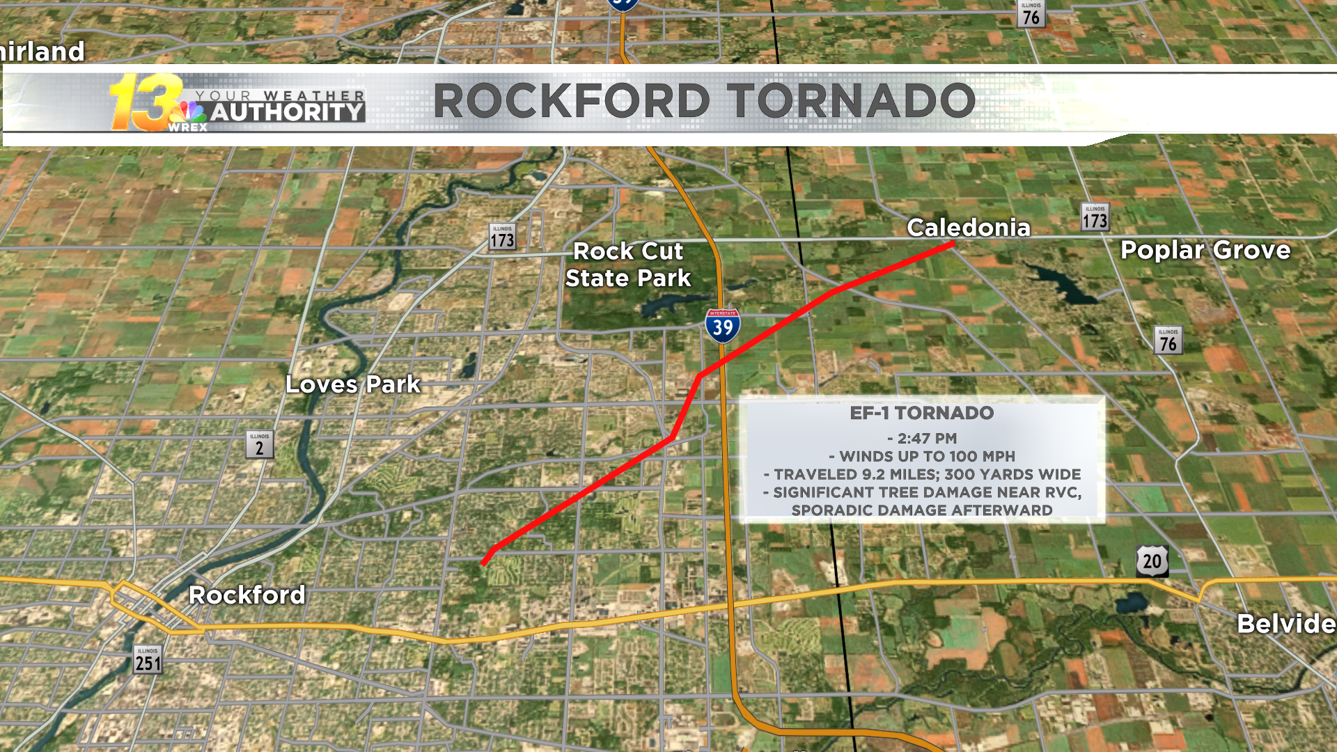 2 Confirmed Tornadoes Struck Within Monday S Derecho