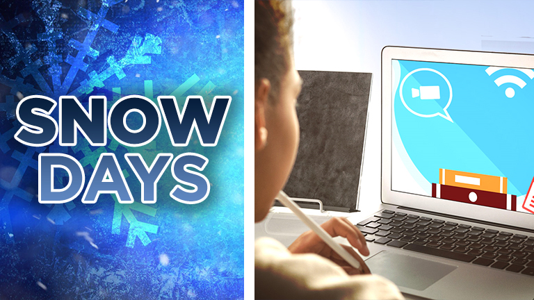 Remote Learning Snow Days Web Pic