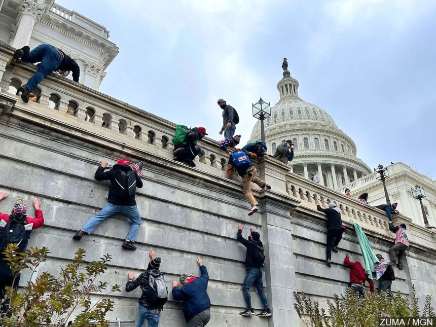US Capitol Chaos