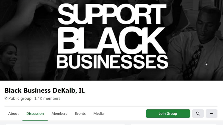 Support Black Bussinesses FBook Group Web Pic