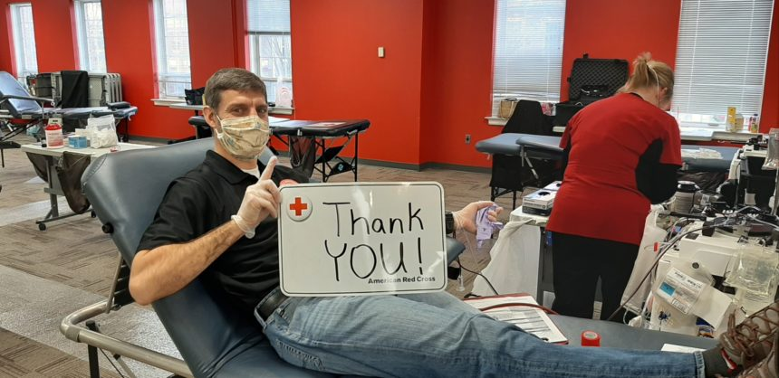 Donor with mask_Kevin