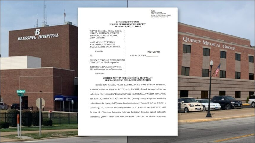 Nurses File Suit Against Illinois Hospital for Alleged Denial of Religious Vaccine Exemptions