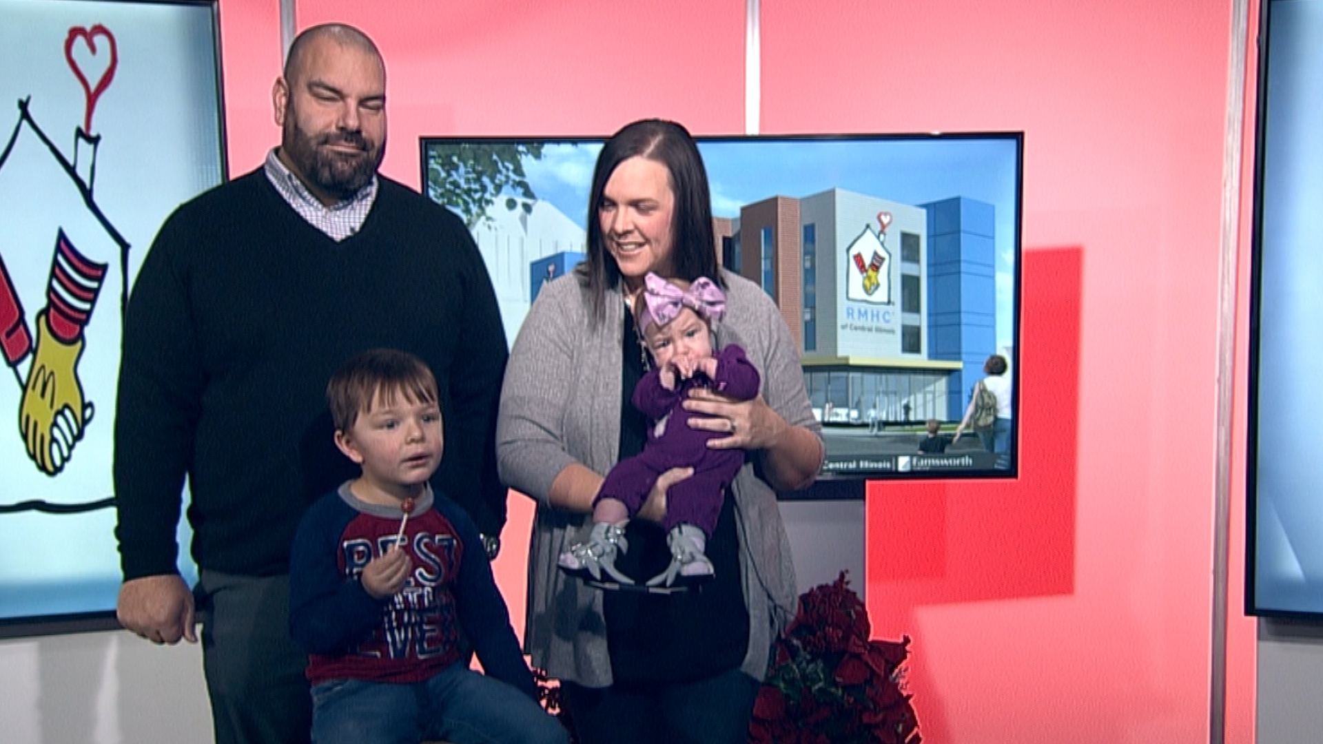 Families taking advantage of soon to open Ronald McDonald House - WEEK