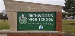 richwoods sign