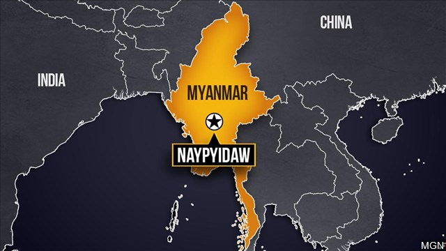 The Latest: Myanmar shuts down all flights in country