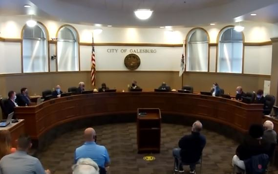 GALESBURG CITY COUNCIL 1