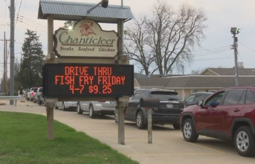 Chanticleer Drive-Thru Fish Fry
