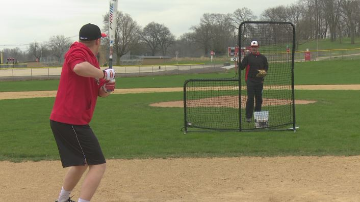 Pekin seniors, Max Jones and Evan Pogioli, keep practicing during coronavirus pandemic