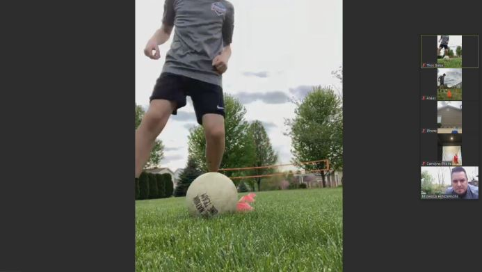 Peoria FC United zoom workout