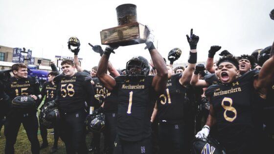 Northwestern Land of Lincoln trophy
