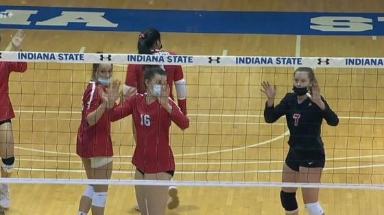 ISU volleyball beats Indiana State