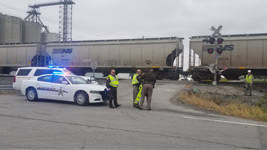 SEMI VS TRAIN WOODBURN 10 20 2020 2