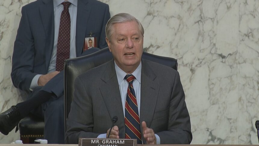 Senate Judiciary Committee Chairman Lindsey Graham