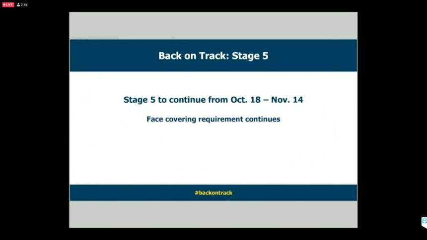 Back on Track stage 5 continues