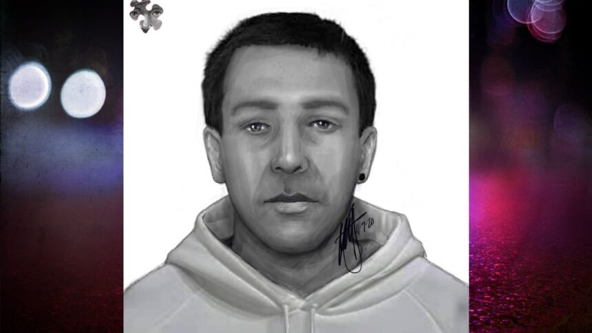 Isleview suspect sketch graphic