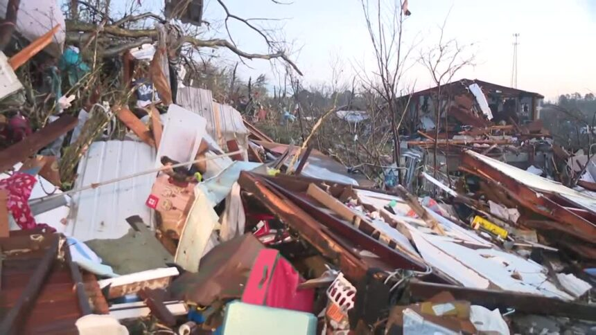 1 dead, at least 17 injured after tornado in Alabama
