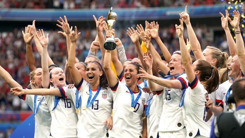 USA wins the 2019 FIFA Women's wolrd cup