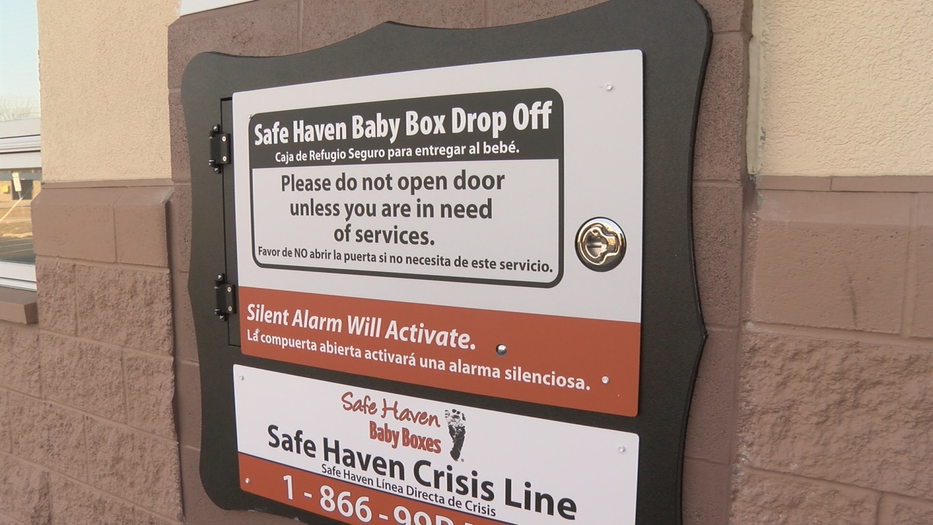Newborn girl retrieved from baby box; fire officials say system worked flawlessly