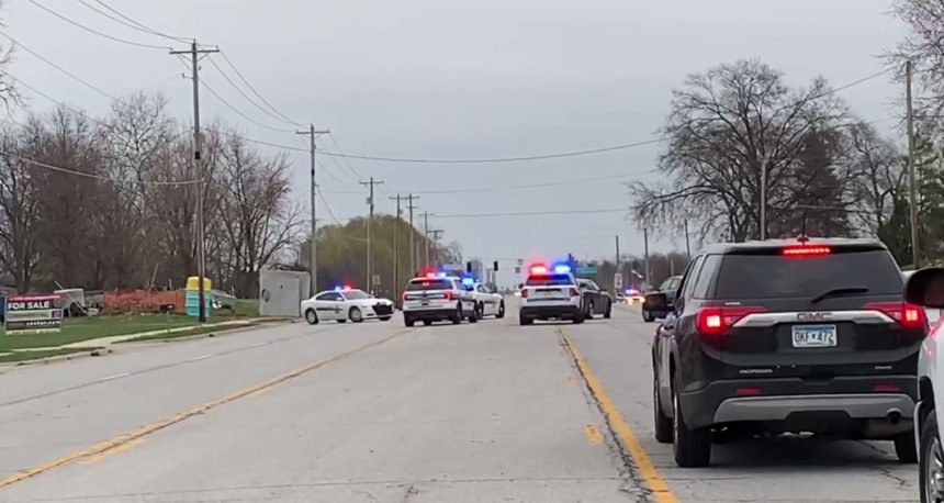 ISP: Standoff ends after police take suspect into custody