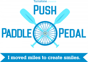 Turnstone wants you to 'Push, Paddle or Pedal' for a good cause