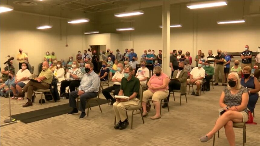 Allen County residents voice concerns about redistricting process