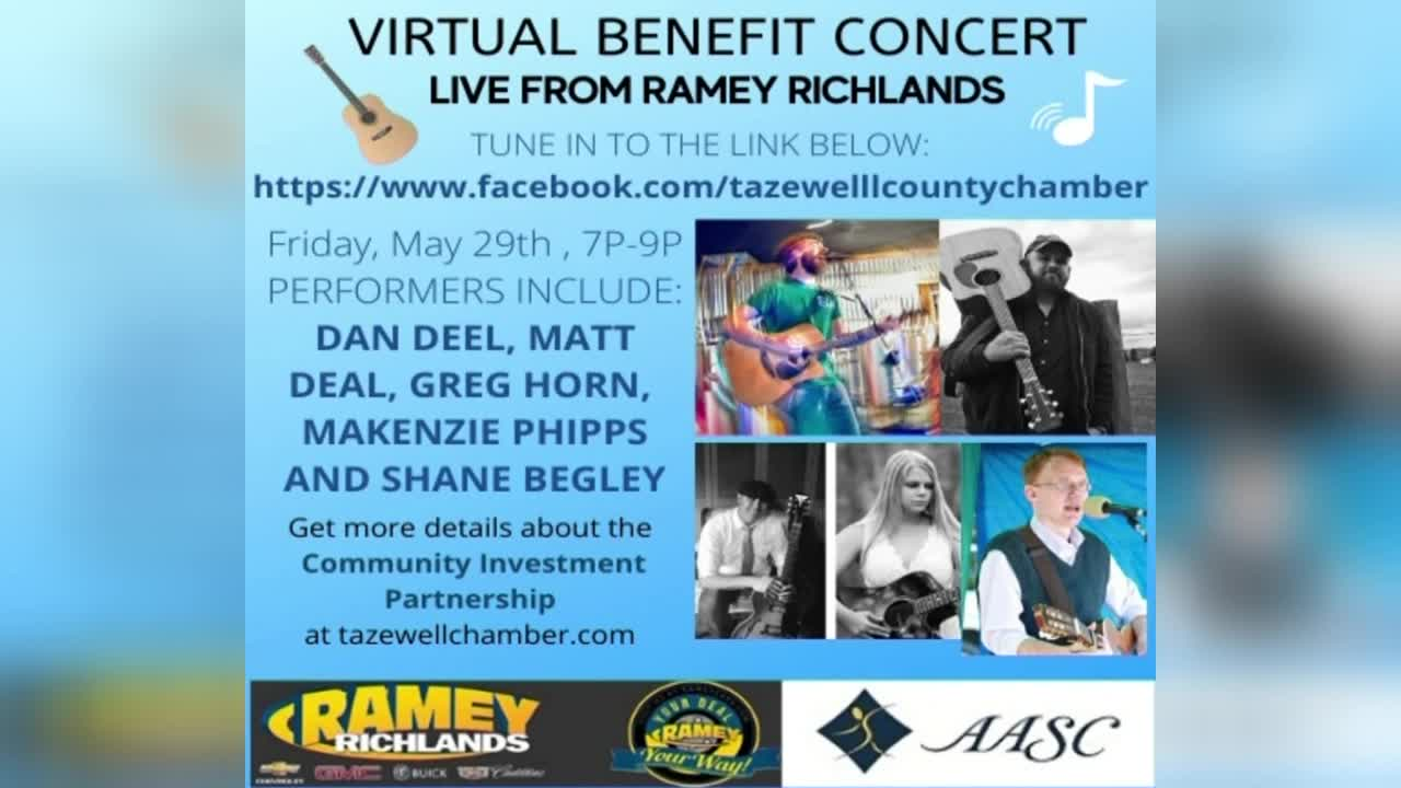 tazewell county chamber of commerce to hold virtual benefit concert tazewell county chamber of commerce to