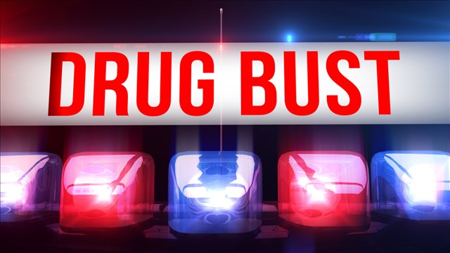 Drug Bust Graphic