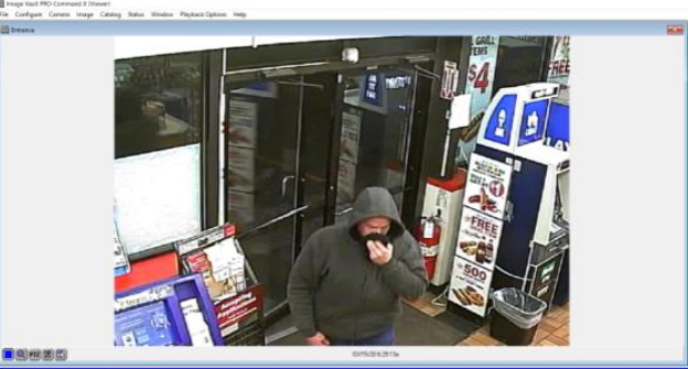 Speedway Robbery Subject