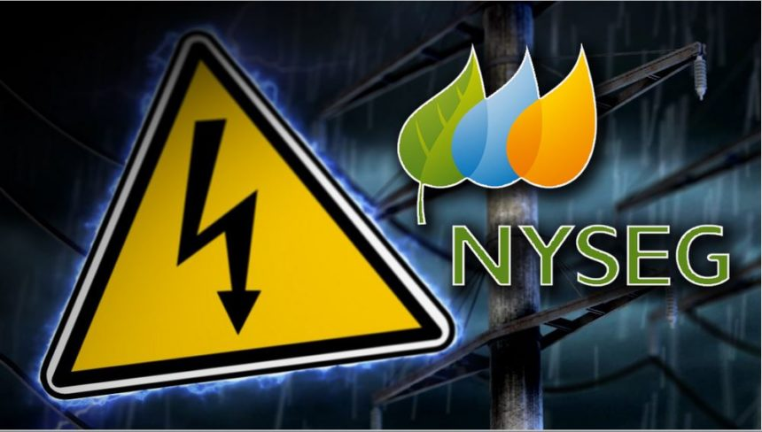 Power Outage NYSEG Graphic