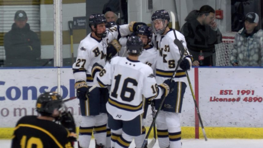 Prep Hockey: Hermantown & Duluth Denfeld Boys, Mirage