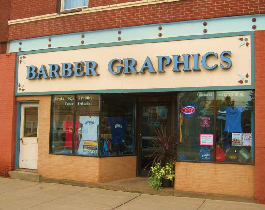 Barber Graphics Inc - storefront