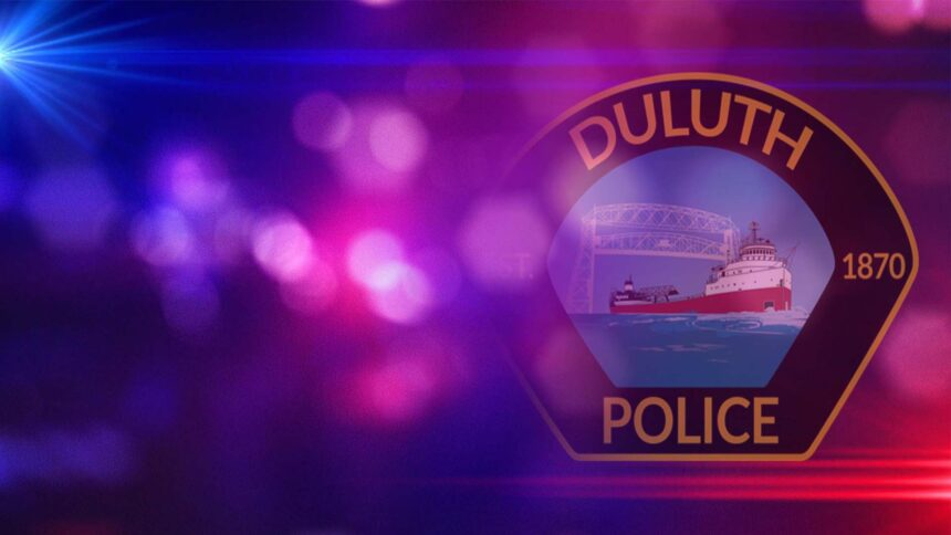 Duluth Police Patch 6WALL