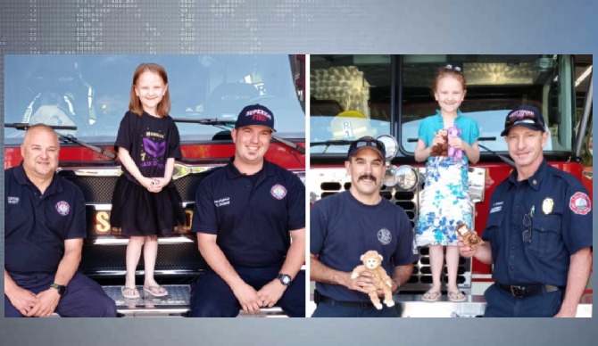 First responders donation