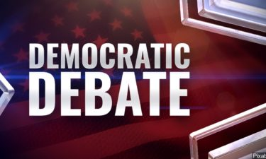 Democratic Debate graphic