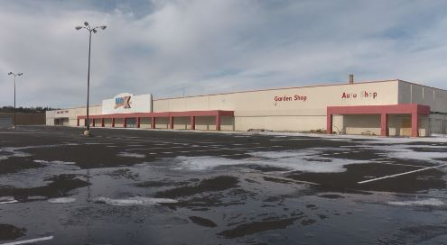 Kmart site, winter