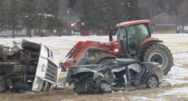 Fatal accident near Mabel