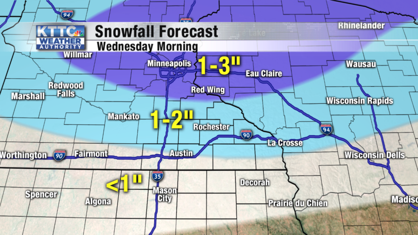 Potential Snowfall Map